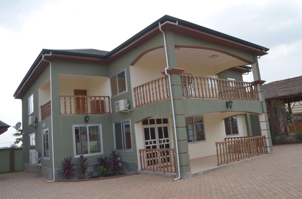 5 MASTER BEDROOM STOREY WITH OUTHOUSE AT ADENTA
